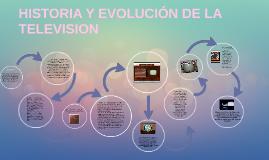 Copy of HISTORIA Y EVOLUCIÓN DE LA TELEVISION
