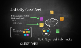Activity card sort