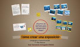 Cómo crear una exposición