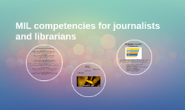 media and information competencies for journalists and libra