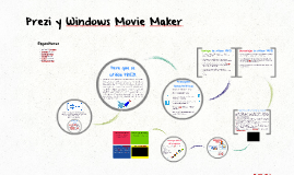 Prezi y Windows Movie Maker