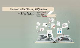 Copy of - Dyslexia