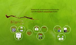 Síntesis verde, caracterización y evaluación de la capacidad