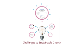 Challenges to Sustainable Growth