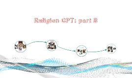 Religion CPT: part B