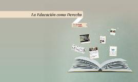 Derecho Humano a la Educación