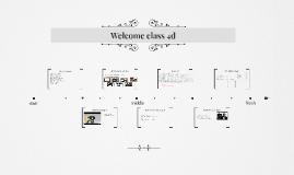 Welcome class 4d