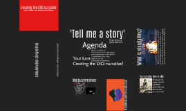 Tell me a story - Creating the DIGI narrative