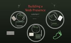 Building a Web Presence