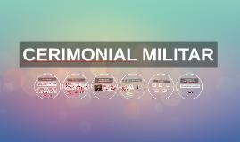 CERIMONIAL MILITAR