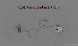 CSR: Abercrombie & Fitch