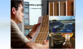 Registros aplicados a Geomecanica