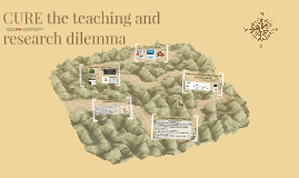 CURE the teaching and research dilemma