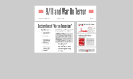 9/11 and War On Terror