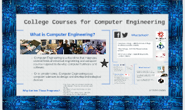 College Courses for Computer Engineering