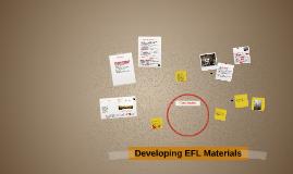 Developing EFL Materials