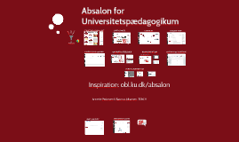 Absalon til Universitetspædagogikum