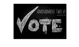 Amendment 12