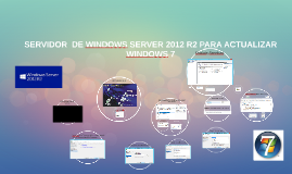 SERVIDOR  DE WINDOWS SERVER 2012 R2 PARA ACTUALIZAR WINDOWS