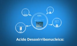Acido Desoxirribonucleico: