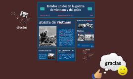 Estados unidos en la guerra de vietnam y del golfo
