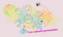 Los valores personales