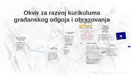 Okvir za razvoj kurikuluma građanskog odgoja i obrazovanja