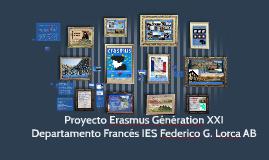 Proyecto Erasmus Génération XXI