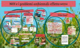 NOI e i problemi ambientali
