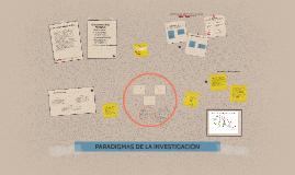 Copy of PARADIGMAS DE LA INVESTIGACIÓN