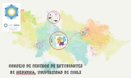 Consejo de Centros de Estudiantes de MEdicina, Universidad d