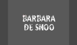Barbara de Snoo