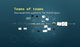 Teams of teams