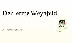 der letze weynfeld