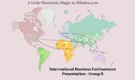 International Business Environment Presentation