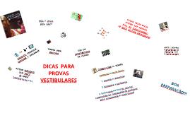 B.  DICAS  PARA  PROVAS  VESTIBULARES