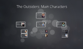Copy of The Outsiders: Characters