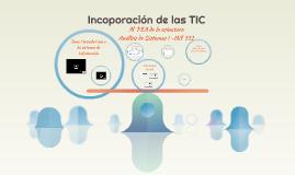 Incoporación de las TIC