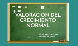 VALORACION DEL CRECIMIENTO NORMAL