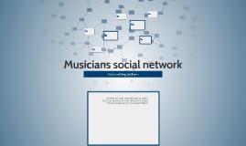 Musicians social network