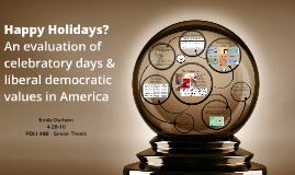 Happy Holidays? An evaluation of celebratory days and liberal democratic values in America