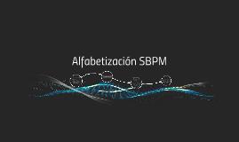 Alfabetización SBPM
