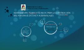 HERRAMIENTAS TEORICO-TÉCNICAS PARA LA CONSTRUCCIÓN DEL PERSO