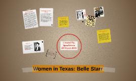 Belle Starr Gov. Prezi