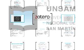 ¿Qué es Zotero?