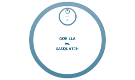 Copy of Sasquatch vs. Gorilla