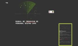 Copy of MANUAL DE INDUCCION DE PERSONAL BISTRO CAFE