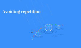 Copy of Avoiding repetition