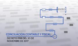 CONCILIACION CONTABLE Y FISCAL