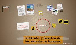 Publicidad y derechos de los animales no humanos